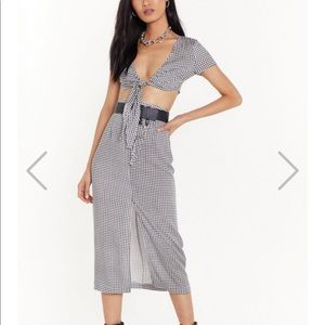 Nasty Gal Easy Does It Two Piece Set size 0